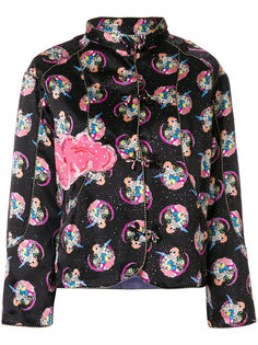 приталенный пиджак с принтом Cosmo Girl Tsumori Chisato