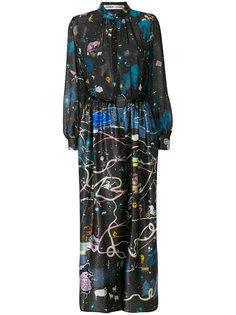 платье с графическим принтом Tsumori Chisato