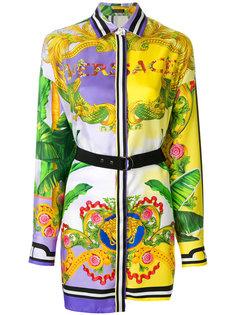 платье-рубашка с орнаментом Versace