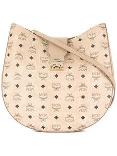 сумка на плечо с монограмным принтом MCM