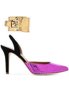 туфли с ремешком на пятке  Via Roma 15