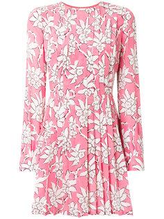 платье с принтом Rododendro Valentino