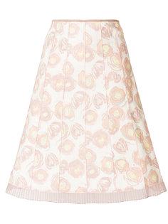 юбка А-образного силуэта с принтом Marc Jacobs