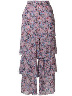 расклешенные брюки с рюшами Philosophy Di Lorenzo Serafini