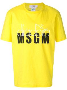 футболка MSGM X Diadora MSGM