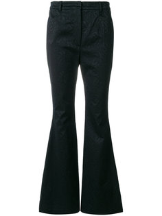 брюки с цветочным узором Dolce & Gabbana