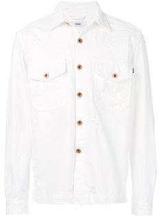 джинсовая куртка с потертой отделкой Diesel