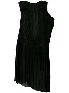 многослойное вечернее платье Ann Demeulemeester