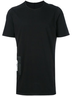 футболка с контрастной заплаткой Rick Owens DRKSHDW