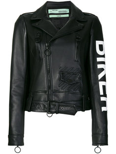 байкерская куртка Off-White