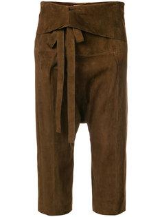 шорты с заниженной проймой Saint Laurent