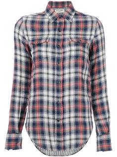 классическая рубашка в клетку Saint Laurent