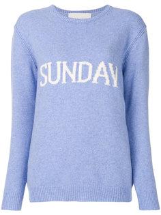 свитер Sunday Alberta Ferretti