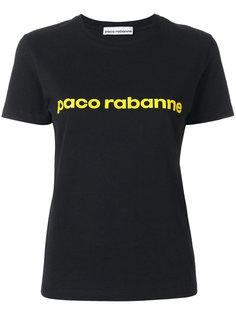 футболка с принтом-логотипом Paco Rabanne