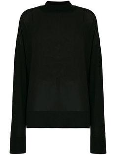 прозрачный джемпер Versace Jeans