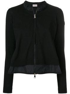 приталенная куртка с оборкой  Moncler