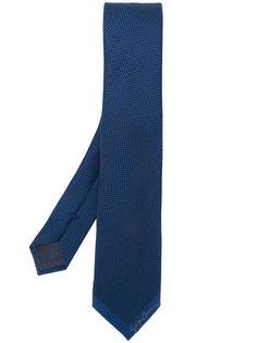 галстук с мелким узором Giorgio Armani
