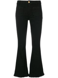 укороченные джинсы с необработанными краями The Seafarer