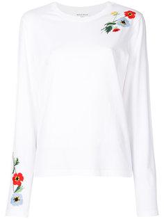 топ с цветочной вышивкой Sonia Rykiel