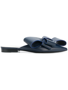 слиперы с заостренным носком Delpozo
