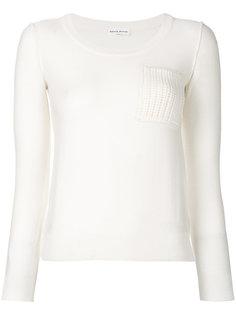 свитер с вырезом ковш  Sonia Rykiel
