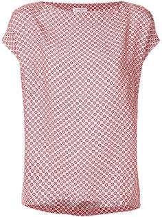 блузка с узором в горох Alberto Biani
