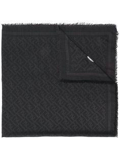 шарф с принтом бокала Fendi