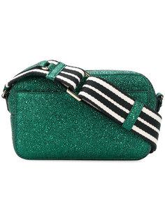 сумка через плечо с блестящей отделкой Red Valentino