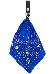 брелок с шелковым платком Amiri