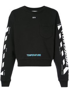 толстовка Temperature Off-White