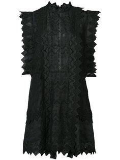 мини-платье с отделкой шитьем Isabel Marant