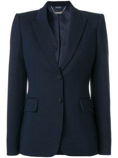 пиджак узкого кроя Alexander McQueen