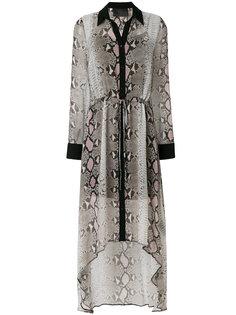 длинное платье-рубашка Sullivan Goldie Philipp Plein