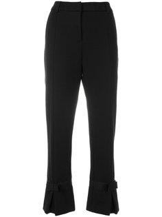 укороченные брюки  с бантами Cavalli Class