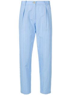 укороченные классические брюки  Erika Cavallini
