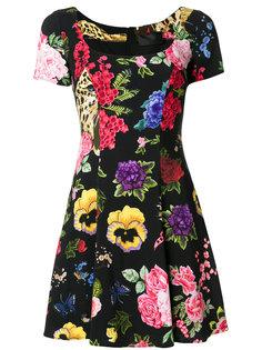 floral embroidered dress Philipp Plein