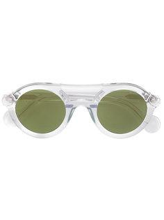 солнцезащитные очки с двойной планкой Moncler Eyewear