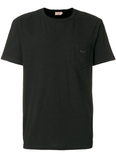 футболка с накладным карманом Maison Kitsuné