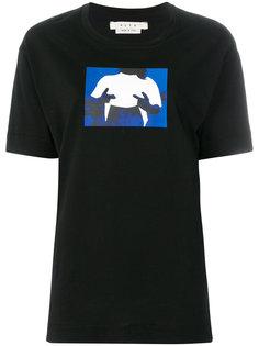 футболка с абстрактным принтом Alyx