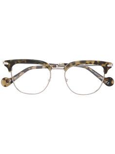 """очки в оправе """"кошачий глаз"""" Moncler Eyewear"""