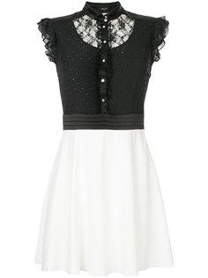 мини-платье с кружевной вставкой Loveless