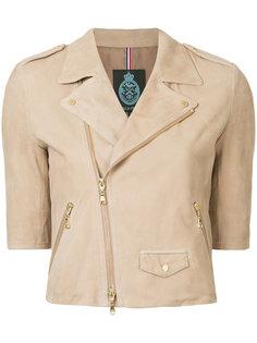 байкерская куртка с короткими рукавами Guild Prime