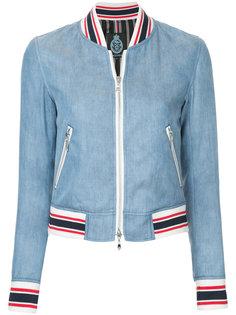 джинсовая куртка-бомбер Guild Prime
