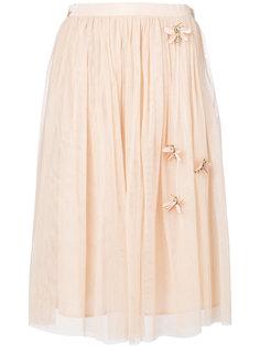 декорированная тюлевая юбка Blugirl