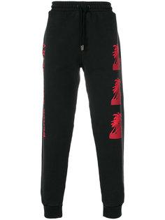спортивные брюки с графическим принтом Palm Angels