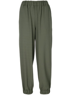 прямые брюки с манжетами  Mm6 Maison Margiela