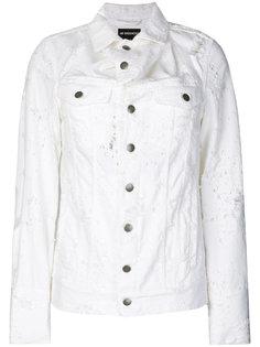 джинсовая куртка с рваными деталями Ann Demeulemeester