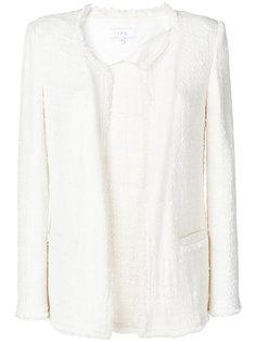 твидовый открытый пиджак  Iro