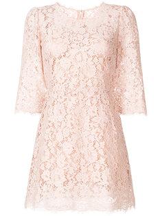 кружевное мини-платье Dolce & Gabbana