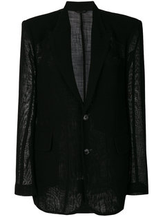 пиджак мешковатого кроя Ann Demeulemeester